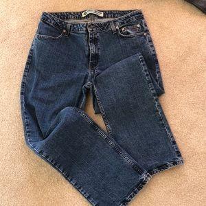 Ladies HD denim boot cut denim jeans